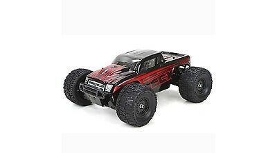 ECX RC 1/18 Ruckus 4WD Monster Truck RTR, Black/Red (ECX01000T1)