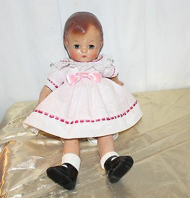 "Effanbee Patsy Joan Happy Birthday Reproduction Doll 15"" Tall"
