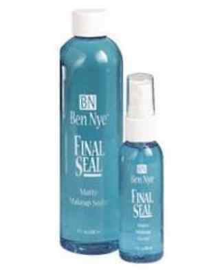 Ben Nye Final Seal Matte Makeup Sealer, 1oz