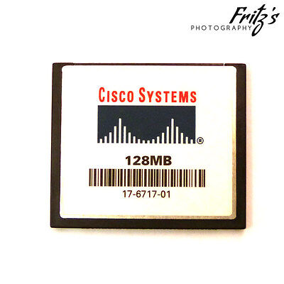 128MB Cisco Systems Compactflash Memory Card - for Router Catalyst Switch etc