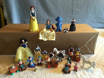 Giant Snow White and Seven Dwarves Lot