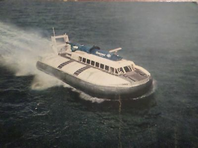 1959 Postcard Seaspeed Hovercraft SRN 6, Cowes to Southampton And Portsmouth