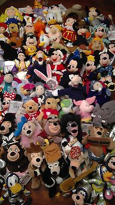 DISNEY Mini Beanbag Plush - Over 50 Characters To Choose From