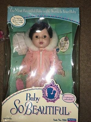 1995 Playmates Baby So Beautiful Doll In Box Bsb