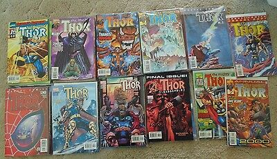 Marvel The Mighty Thor Comic Issues 1 through 85 and Annuals 1999, 2000 & 2001