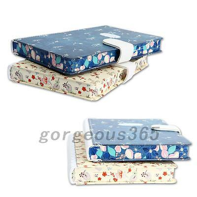 """Blue Bird"" Journal Diary Lovely Lined Planner Hard Cover Notebook Memo Gift"