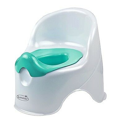 White Baby Potty Training Seat Toilet Chair Infant Toddler Kids Bathroom Trainer