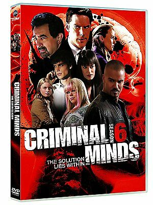 Criminal Minds: Complete Season 6 - New R4 DVD - 6 Disc Set- TV Series Six Sixth