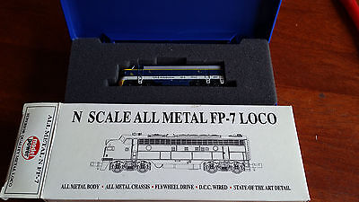 Model Power All-Metal Fp7A C&o Dcc Fitted Superb Looker+Runner Boxed N Gauge (G)