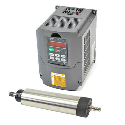 0.8Kw Er11 Air-Coole Spindle Motor And Inverter Vfd Drive  For Cnc Top Quality