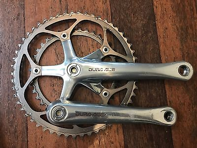 Shimano dura ace 7700 crank set. 9 speed. 53/39.   172.5mm. Excellent cond.
