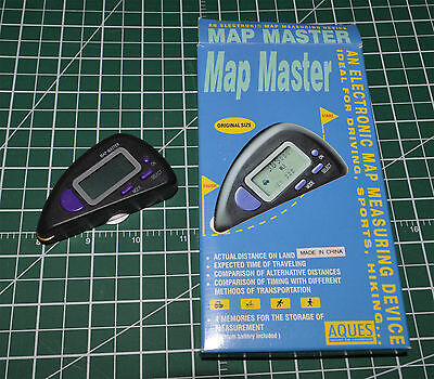 Map Master Electronic Map Measuring Device