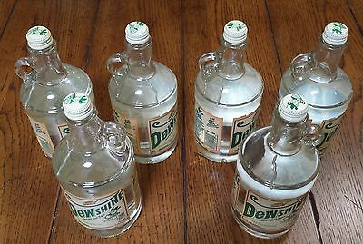 One New Mountain Dew Dewshine RARE & COLLECTIBLE 25oz Limited Edition Glass Jug