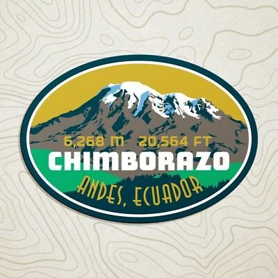 Chimborazo Mountain Decal Sticker