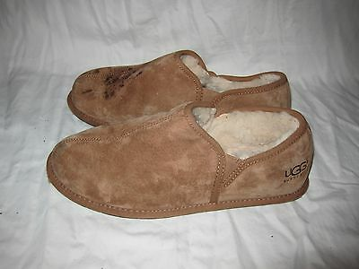 5c8571c37109f UGG Mens Scuff Romeo II Slippers 5650 Chestnut Brown size 13 Indoor Winter