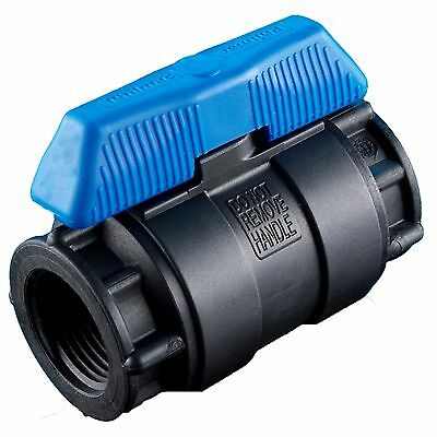 Philmac BALL VALVE Blue Handle, Drinking Water Approved *Aust Made- 40mm Or 50mm