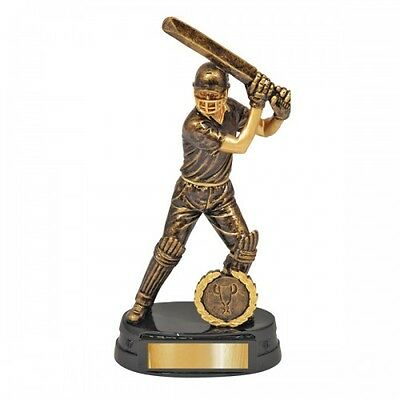 Cricket Trophy Batter 175cm Engraved FREE