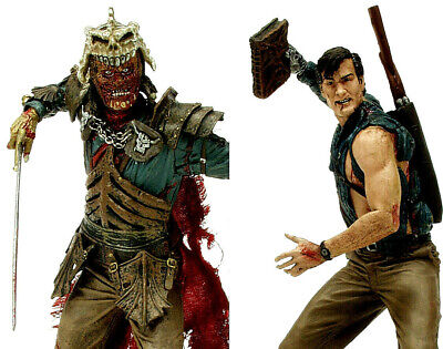 ARMY OF DARKNESS ASH +  EVIL ASH   2 action-figures 16cm McFarlane