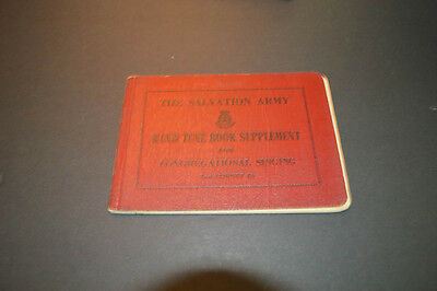 Salvation Army Band Tune Book 2nd Cornet Bb 1954