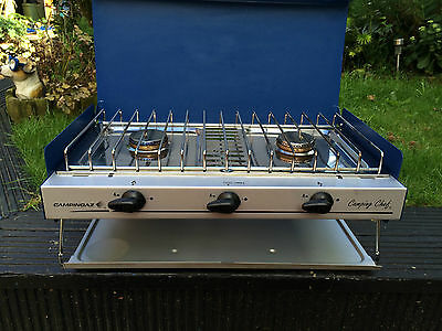Campingaz Cooker Double Burner & Grill