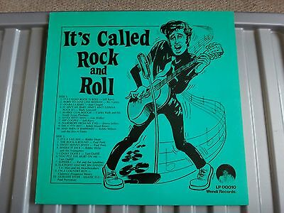 Vinyl - V/a - It's Called Rock And Roll - Wendi Records Lp00010 - Lp Record