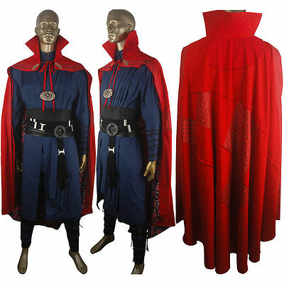 Marvel Movie Doctor Strange Halloween Cosplay Costume Make-up Outfit Xmas Gift