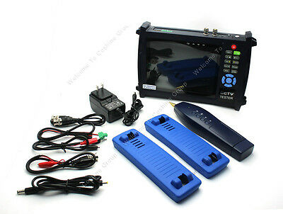 "7"" LCD Monitor Security Camera CCTV Tester Ping IP Address/POE Check HVT-3600 SA"