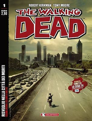 [Nuovo] The Walking Dead N. 1 Variant Lucca Comics 2012 Saldapress