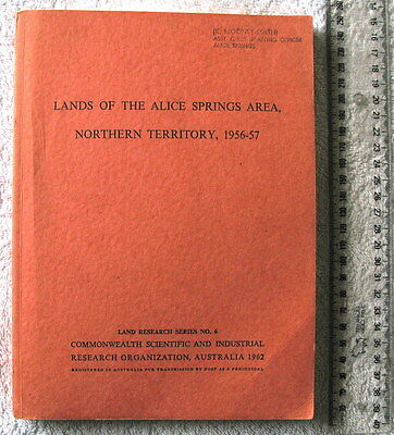CSIRO General Report on Lands of the Alice Springs Area NT 1956-57 [Perry]1stEdn
