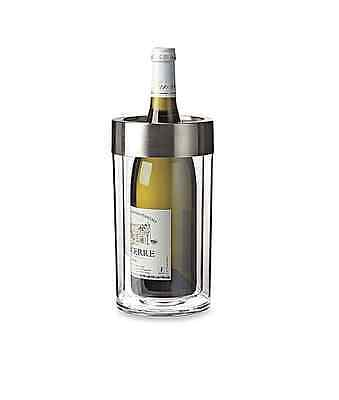 Wine Enthusiast Double Walled Iceless Wine Bottle Chiller - NEW