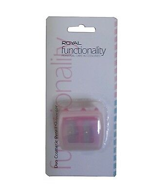 Royal Functionality Duo Cosmetic Sharpener ~ Eye Pencil Sharpener
