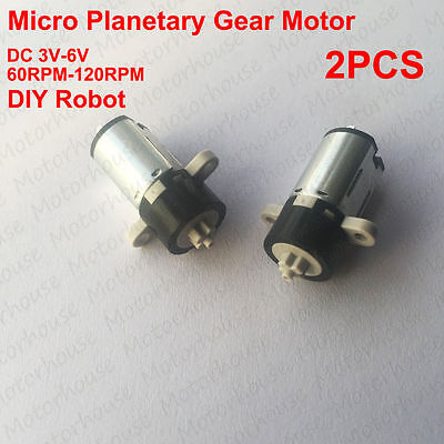 DC 3V~5V 10MM Planetary Gear Reducer Motor Coreless Motor For DIY Robot 1:150