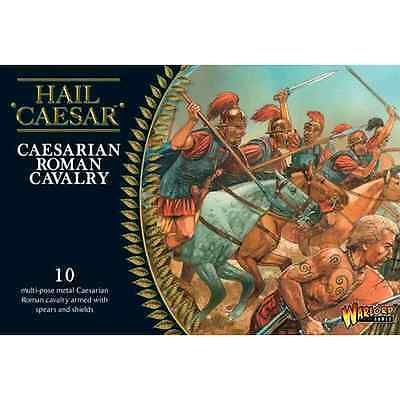 Warlord Games: Caesarian Roman Cavalry (10 miniature a cavallo) - scala 28mm
