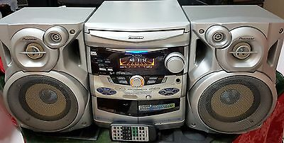PIONEER A390 - 3 CD / Dual Tape / FM AM Radio / Stereo Audio System with Karaoke