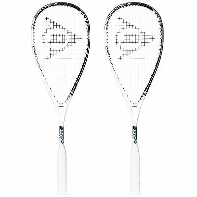 Dunlop Force Evolution 130 Squash Racket Double Pack.rrp £280 free post uk.
