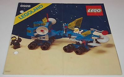 Lego Space 6928, Bauanleitung, only Instructions Manuel,ohne Steine