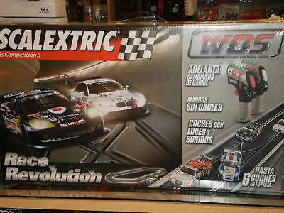 Circuito Race Revolution Wos + ¡¡ 2 Coches Incluidos !! Scalextric