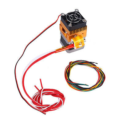 Upgrade MK8 Extruder 0.4mm Single Nozzle 1.75mm Print Head For 3D Printer Prusa