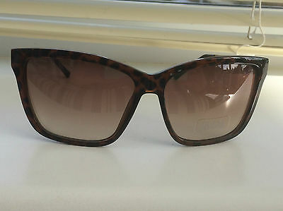 Ladies Guess Sunglasses 7240 Tortoise shell with gold zebra detail Brand New