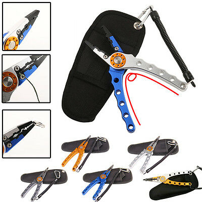 Aviation Aluminum Fishing Pliers Fishing Hooks Remover Fishing Clamp Tackle