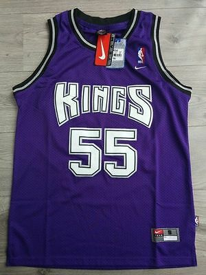 Sacramento Kings Purple throwback Jason williams Jersey