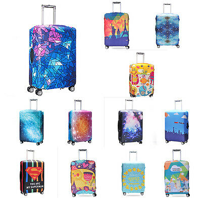 "18""-32"" Luggage Protector Elastic Travel Protective Suitcase Dustproof Cover Bag"
