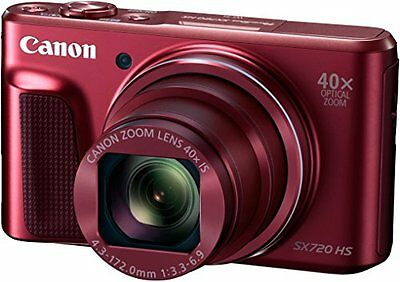Canon Fotoc.PS Sx720 Red 20M Z24/960 WiFi NFC - 4549292056921