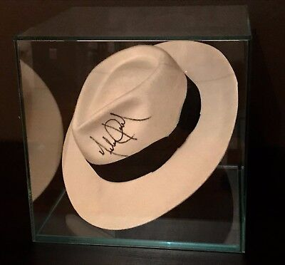 Michael Jackson Signed Smooth Criminal Fedora With Coa