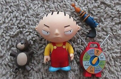 Family Guy Stewie Griffin Series 1 Mezco Action Figure Rare
