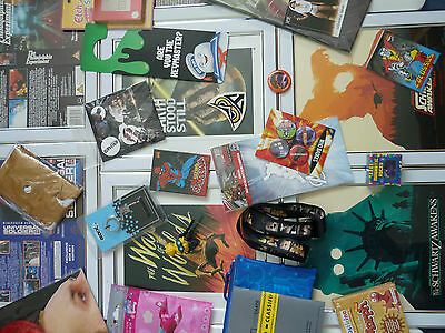 45+ Loot crate Zbox Nerd block Job lot Framed vhs sleeves covers Print Cards