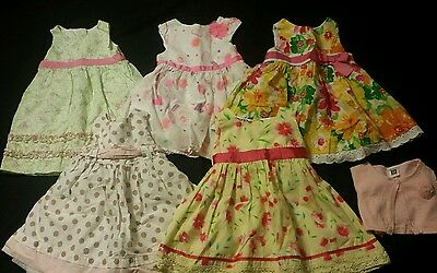 Baby Girl Size 18 months Spring and Summer Clothing Lot  *Dresses*