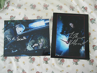 Halloween Rob Zombie Tyler Mane & Scout Taylor Compton Signed 8 X10 Colour Photo
