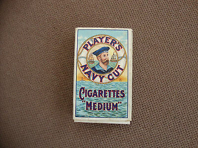 Player's Navy Cut Medium Cigarettes Cigarette Packet 10s