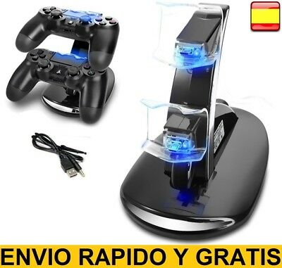 BASE DE CARGA PARA MANDO PlayStation 4 Dock CARGADOR GAME CONTROLLER PAD PS4 PS